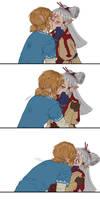 [Zelda Breath Of The Wild] Paya x Link - Kiss
