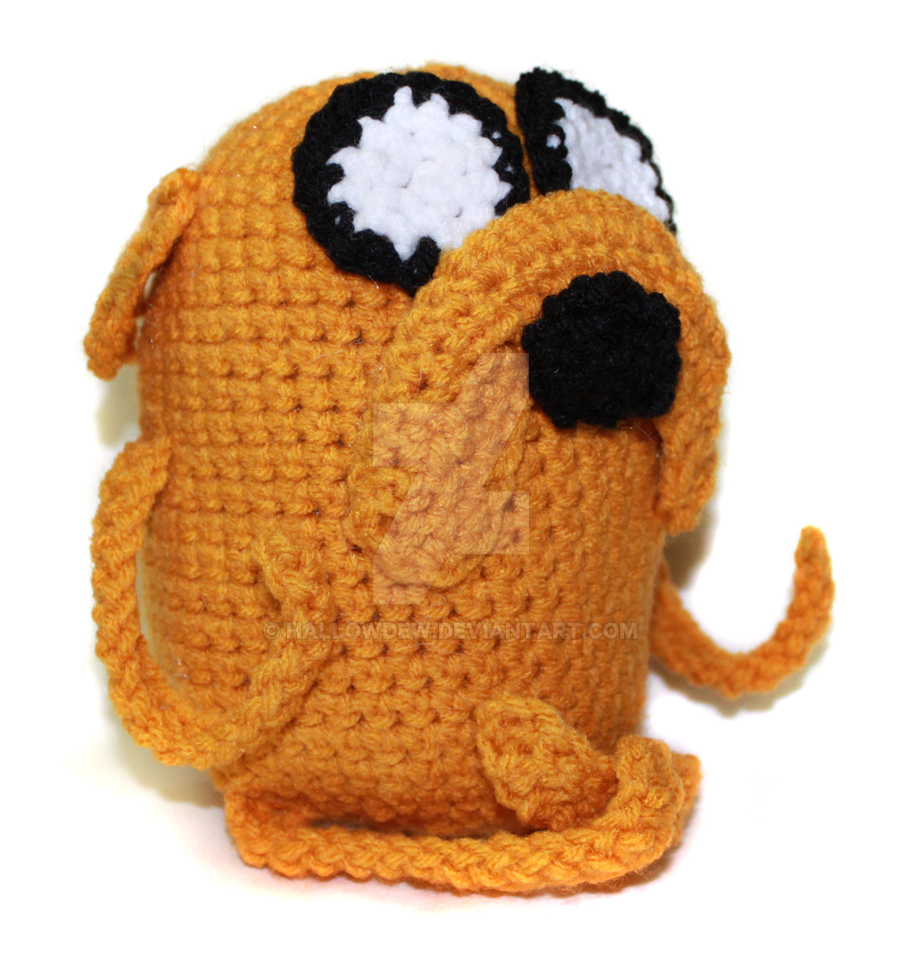 Adventure Time- Crochet Jake by HallowDew