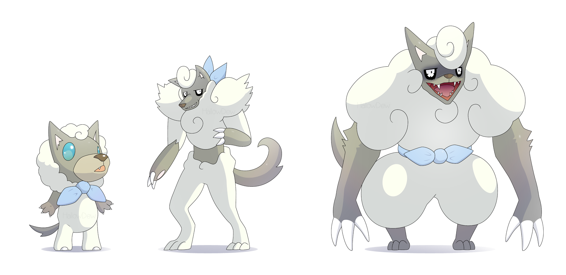 Pokemon Wolf