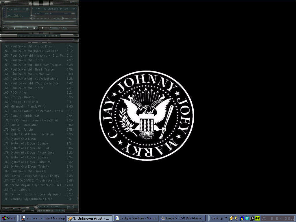 ramones desktop by felsen