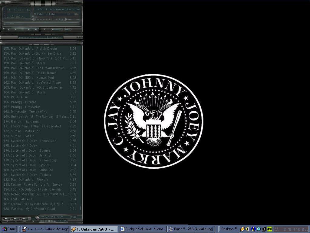 ramones desktop by felsen