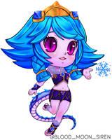 Winter Wonder Neeko Chibi by BloodMoonSiren