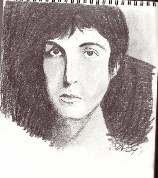 Paul Mc Cartney Portrait by Zazar-Ramone