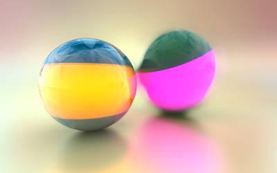 3D Balls by DJFoxx
