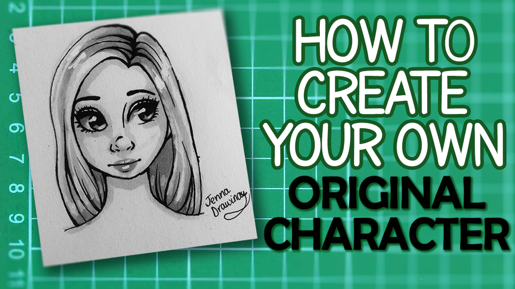Design Your Cartoon Character : Create your own original character new youtube vid by