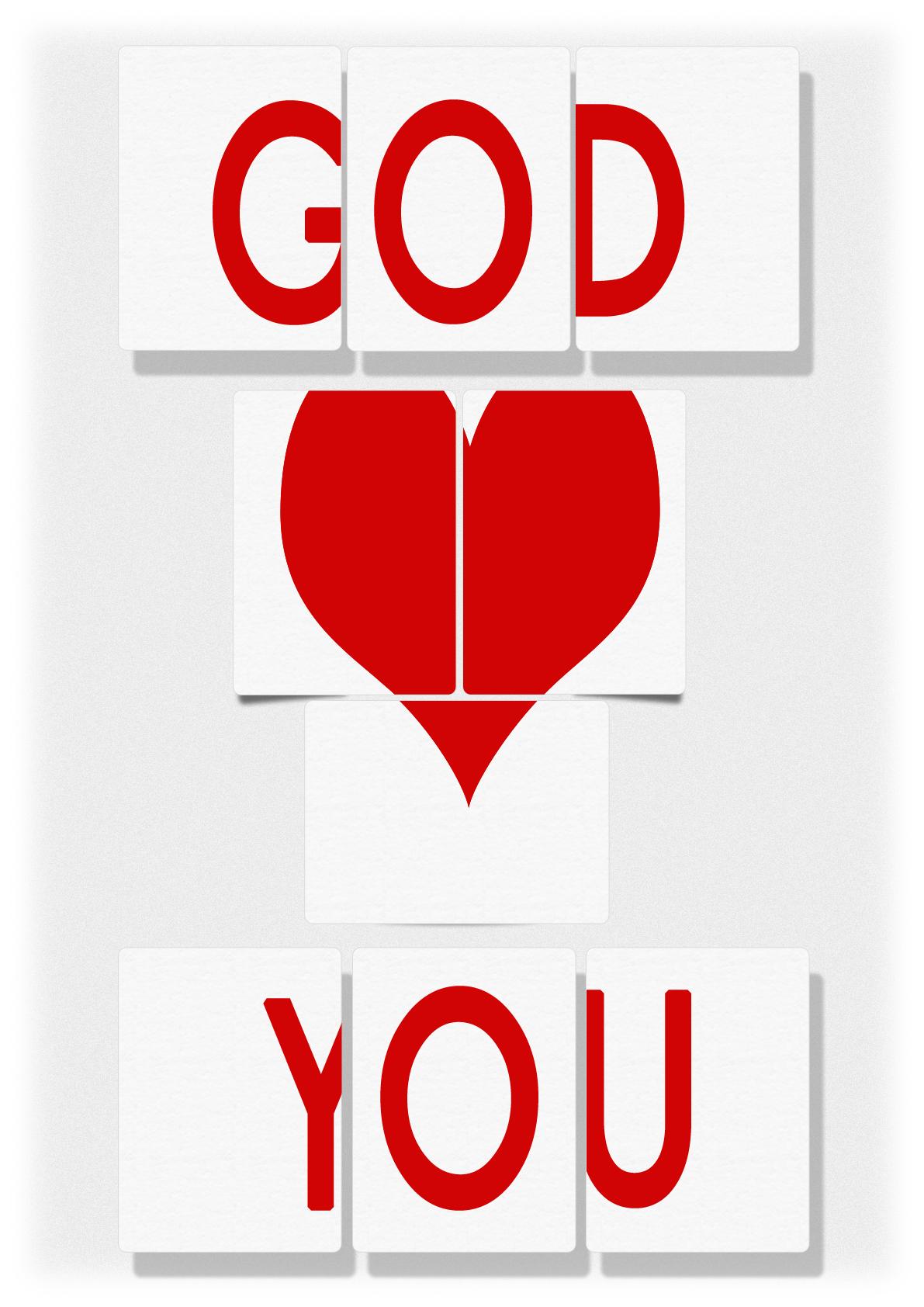 clipart god loves you-#7