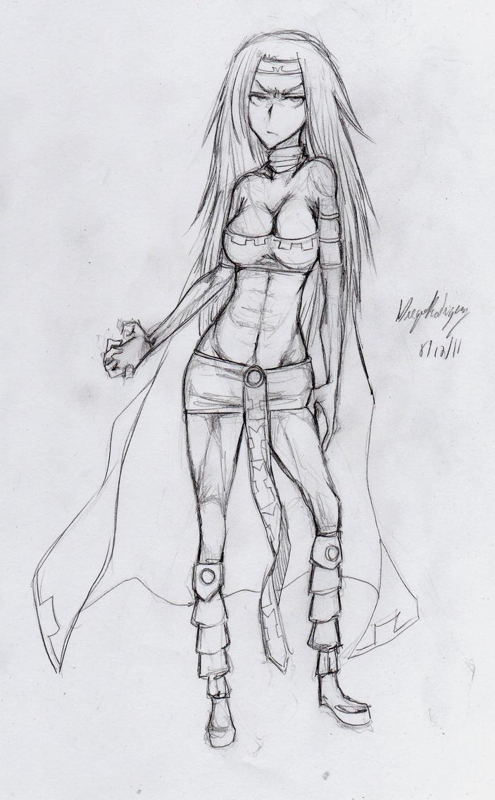 Xana - Sketch by snoop19922002