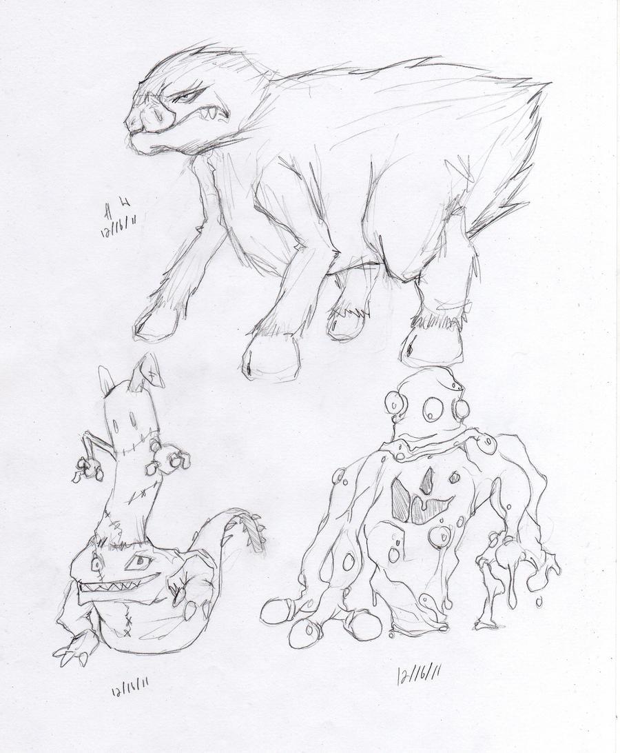 Monster Set - 2 by snoop19922002