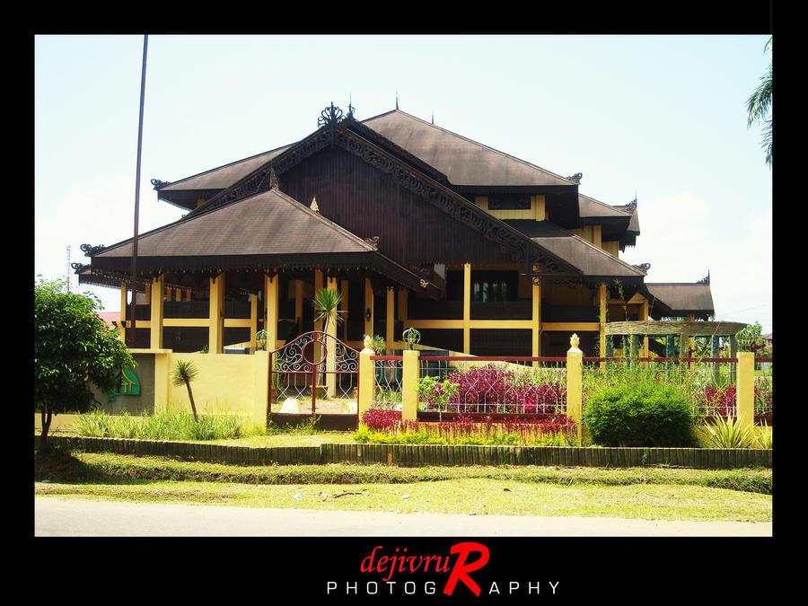 rumah adat melayu di kotabaru by dejivrur