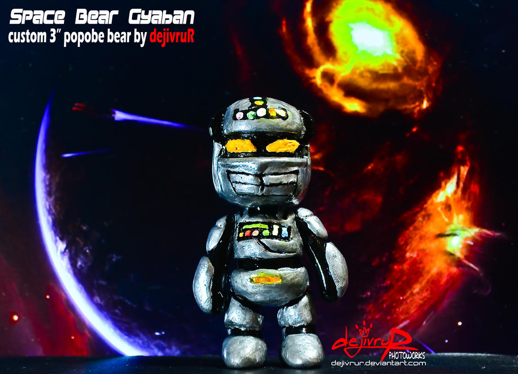Space Bear Gyaban 02 By Dejivrur On Deviantart