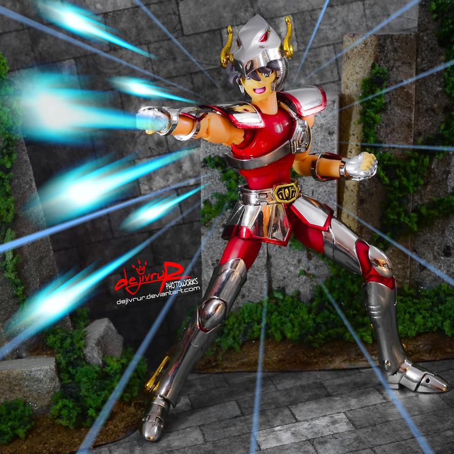 Pegasus Ryuusei-ken!! by dejivrur
