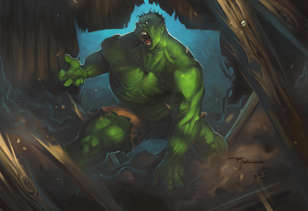Rocwell Hulk - Color by Gatling
