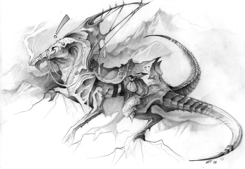 Sketch: Ascender by Gatling