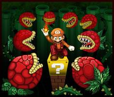 Super Mario Bros 3 (Fire power) by Gaskinmoo