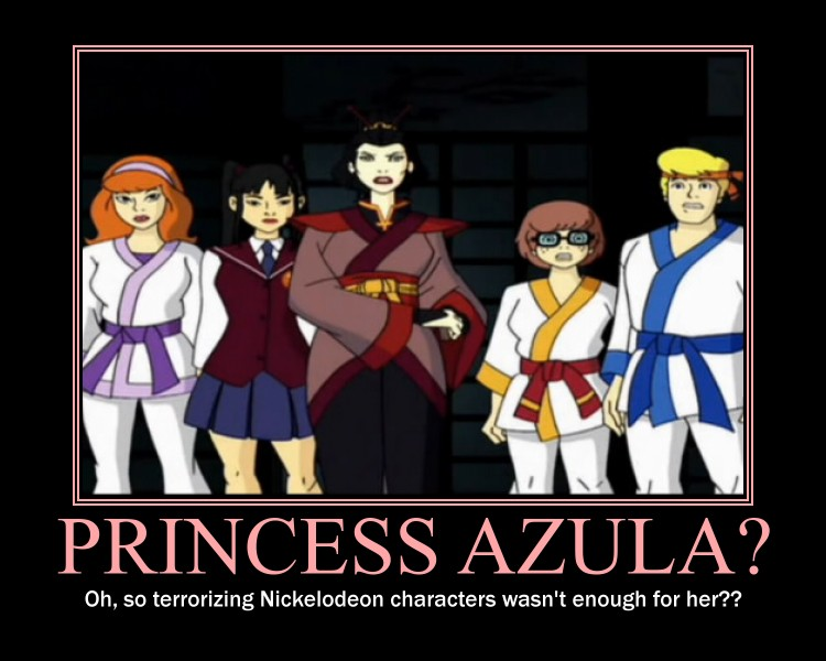 Motivational Poster - Azula? by TheNerdYouAllLove