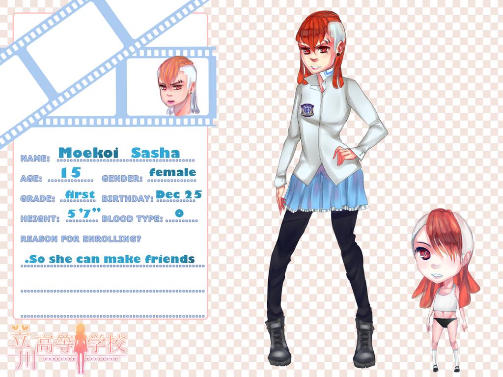 Tachikawa-High App: MoeKoi Sasha by Koichi-Sama