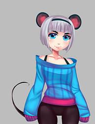 Mouse girl by Koichi-Sama