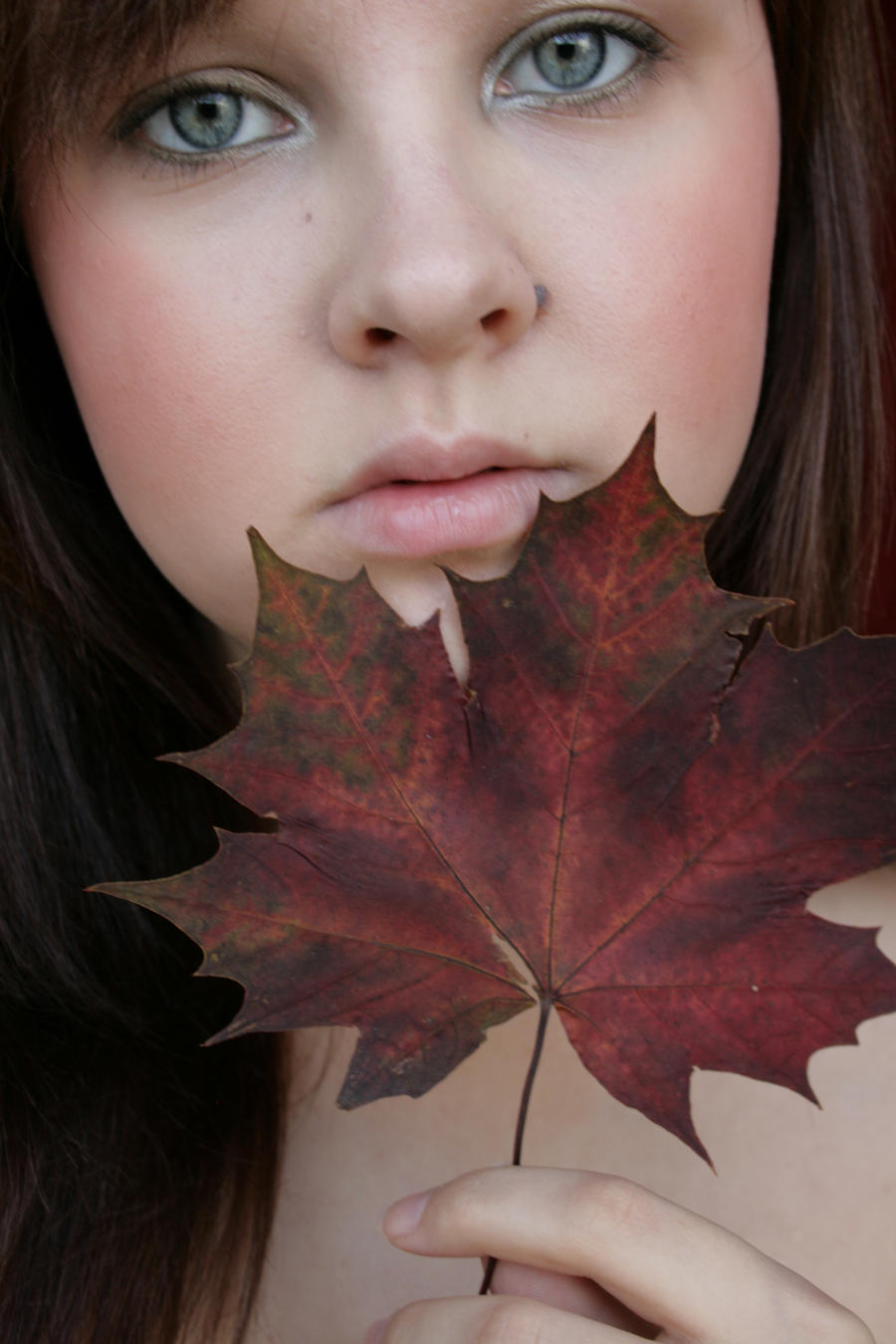 Autumn portrait 3 by mariix-stock