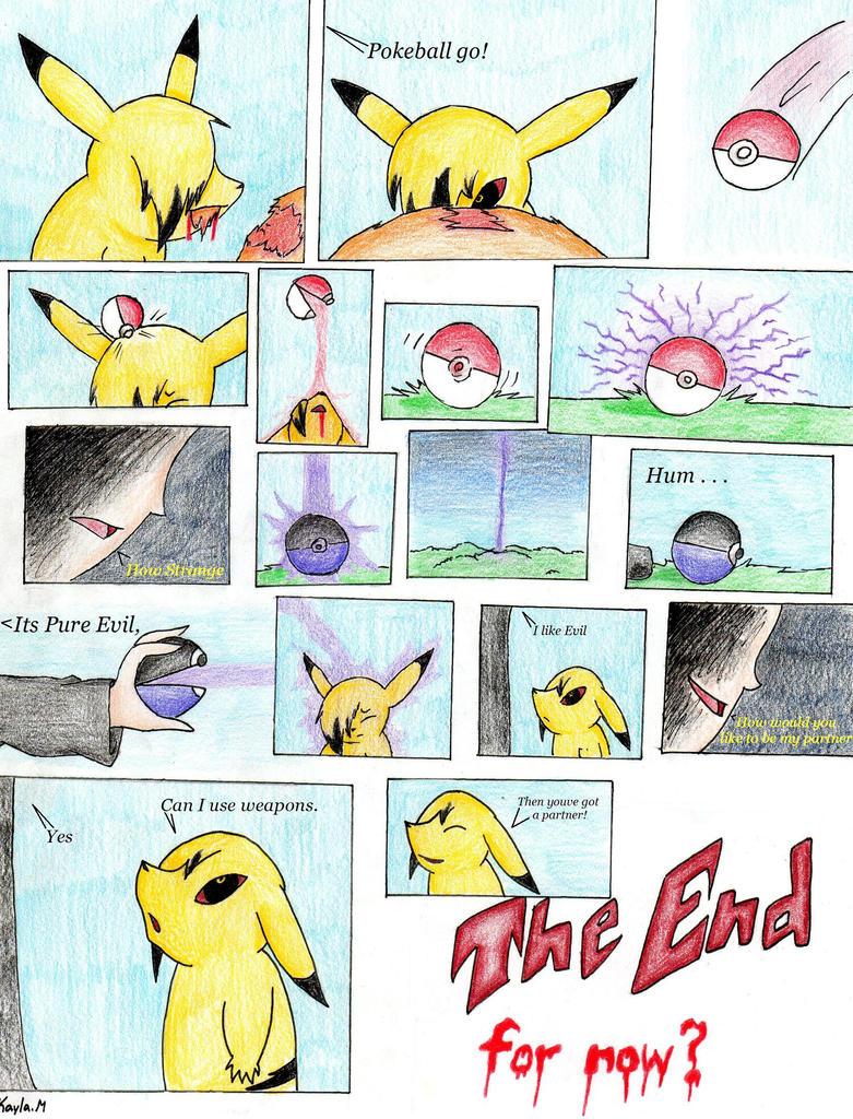 Evil Pikachu And Ash How I got Evil Pikachu by