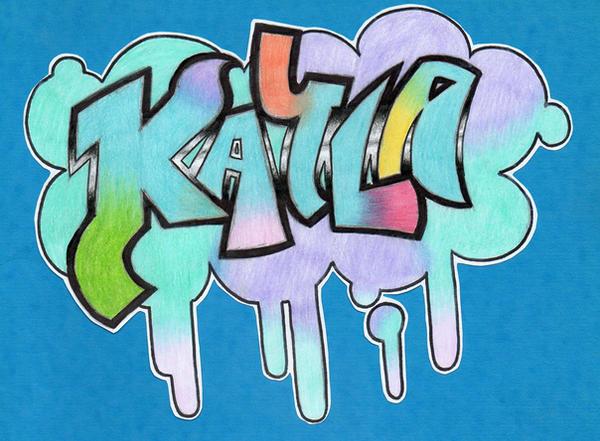 Kayla Written In Graffiti Blue Cross Nurse Line Mn 痞客邦