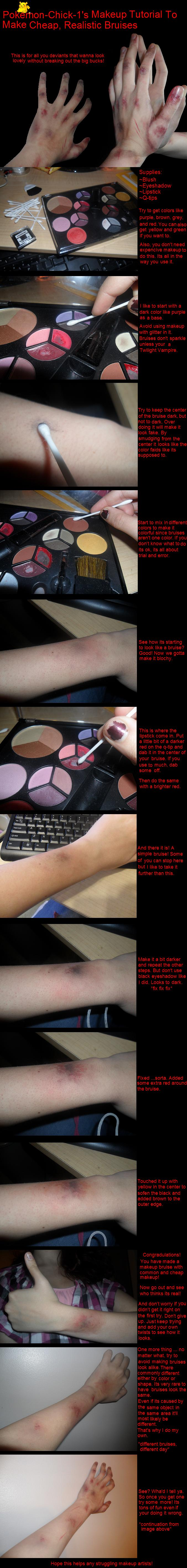 Makeup Bruise Tutorial by Pokemon-Chick-1