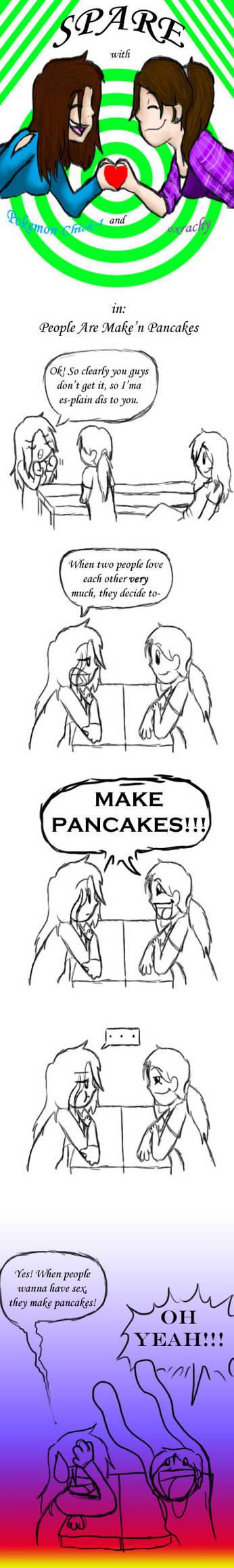 Spare: Maken' Pancakes