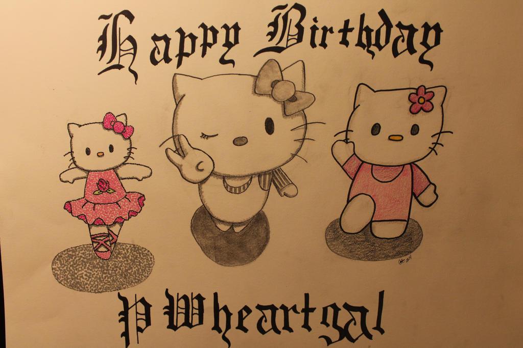 Hello Kitty Happy Birthday PWheartgal By Animegirl9262
