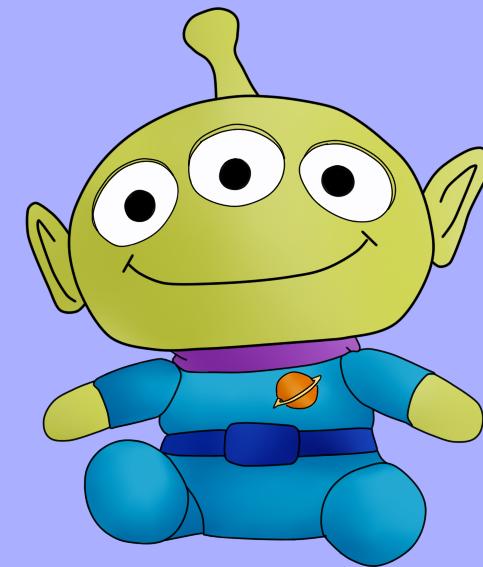 Toy Story Alien By IshKitty