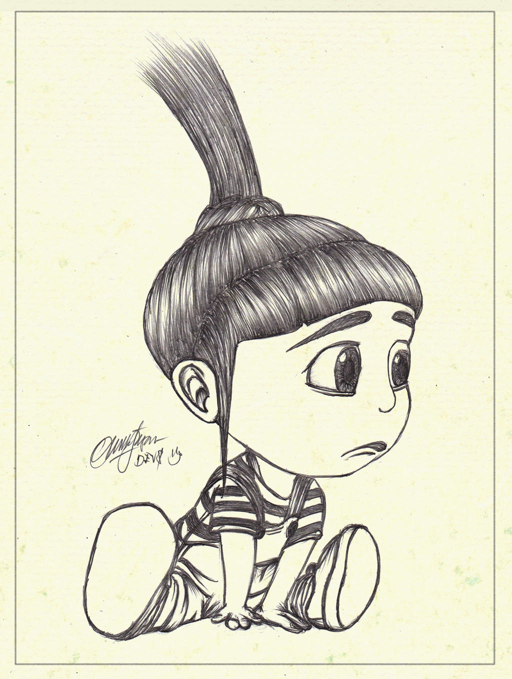 Agnes.DespicableMe by DevSchecter on DeviantArt