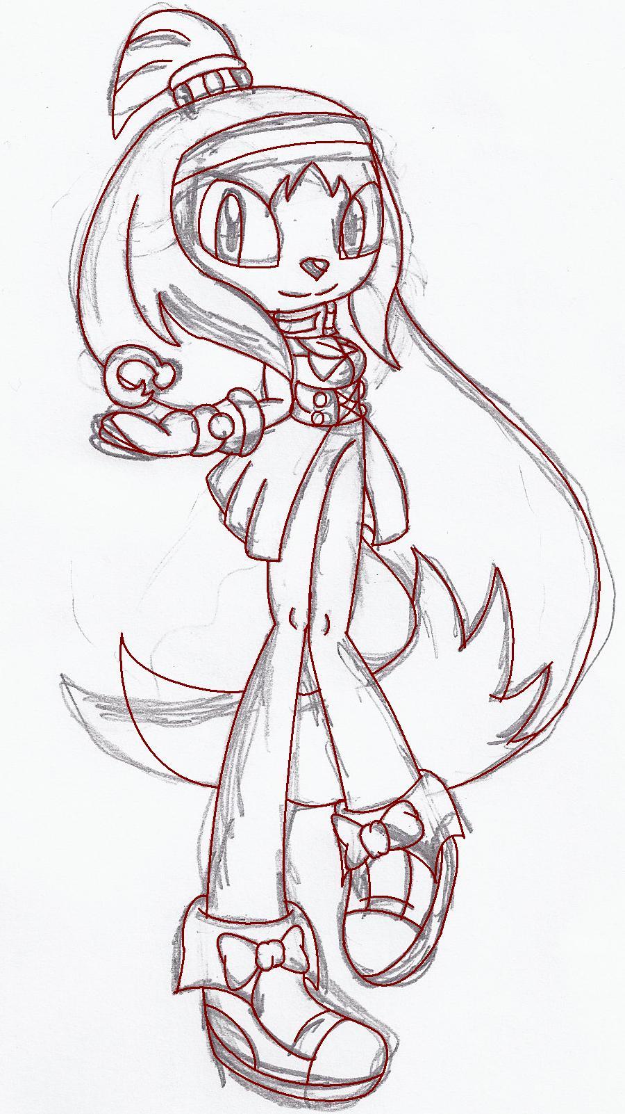 original character coni shun the spirit by conishunfan