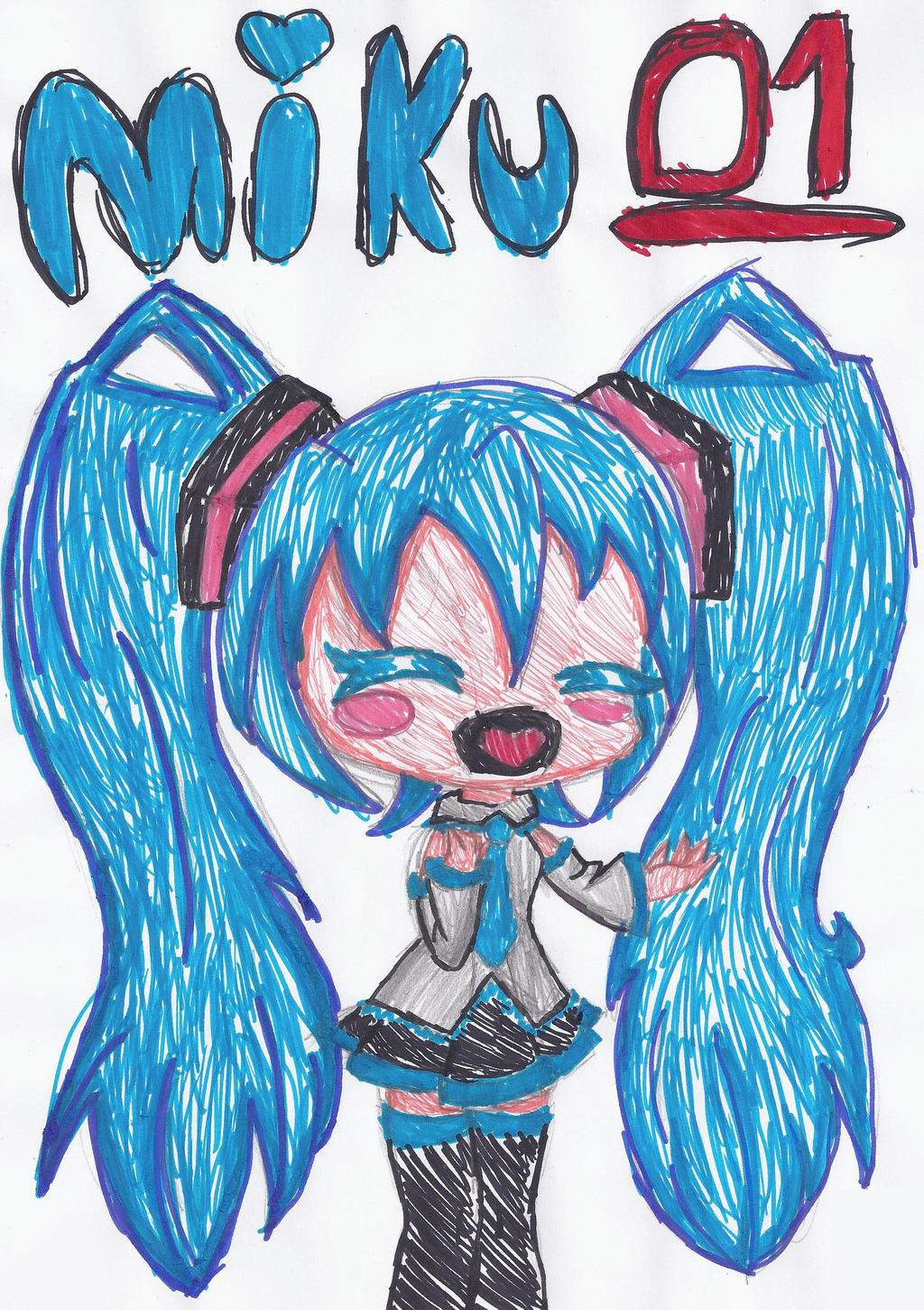 Miku Hatsune by conishunfan