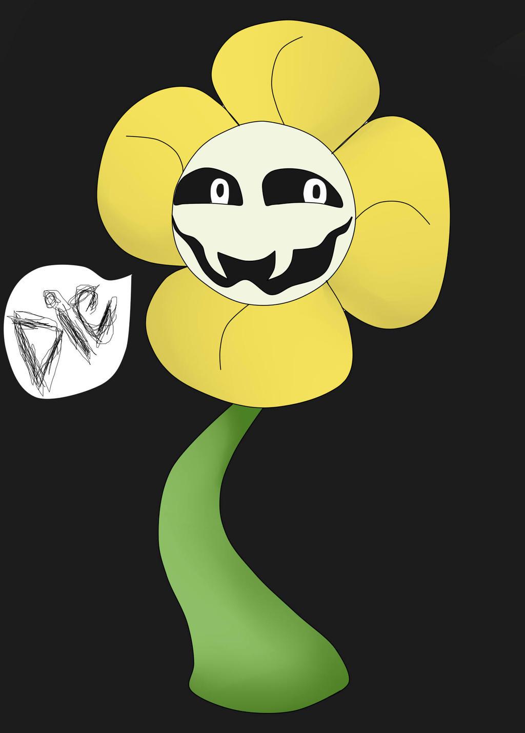 Flowey The Flower by conishunfan on DeviantArt