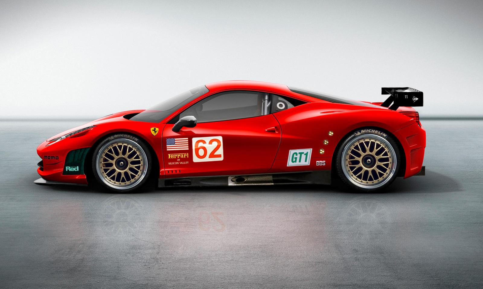 Ferrari 458 Challenge debuts