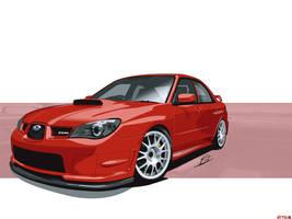 Subaru Impreza WRX STi Wall by Vipervelocity