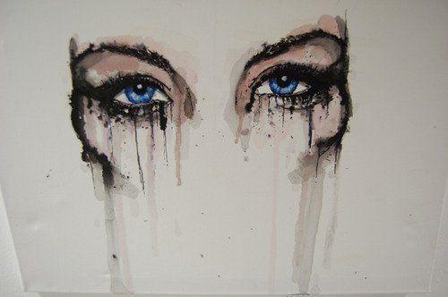 Cried Eyes by AeternaLuxX
