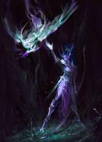 Tyrande Whisperwind by SombraSister