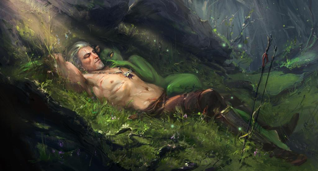 Geralt and morenn