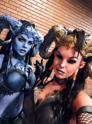 Eredar Twins by SombraSister
