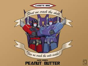 Cassette Bros Peanut Butter