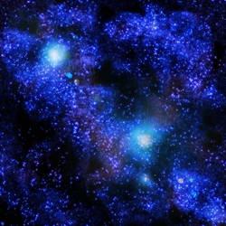 Star Field 1 by SerafinaMoon