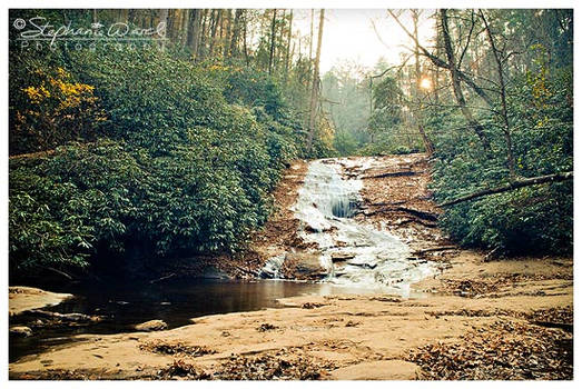 Helton Creek Falls - Lower