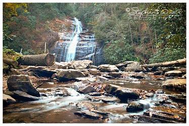 Helton Creek Falls - Upper