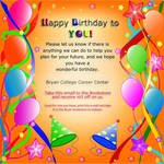 Birthday Card Email