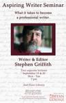 Aspiring Writer Seminar Poster