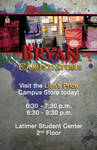Campus Store Advertising Poster