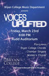 Voices Uplifted 2012 Poster