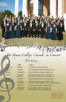 Chorale Tour Poster 2011