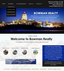 Bowman Splash Page