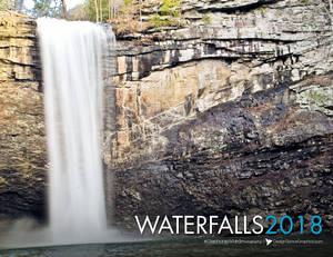 Waterfall Bible Verse Calendar 2018