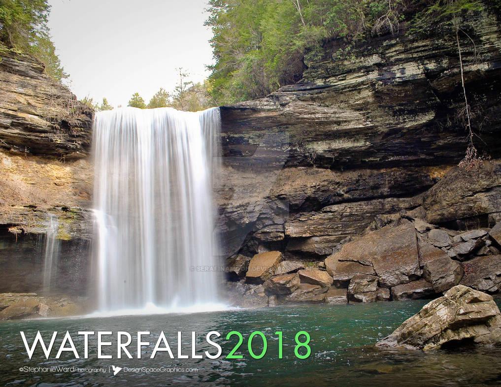 2018 Waterfall Calendar